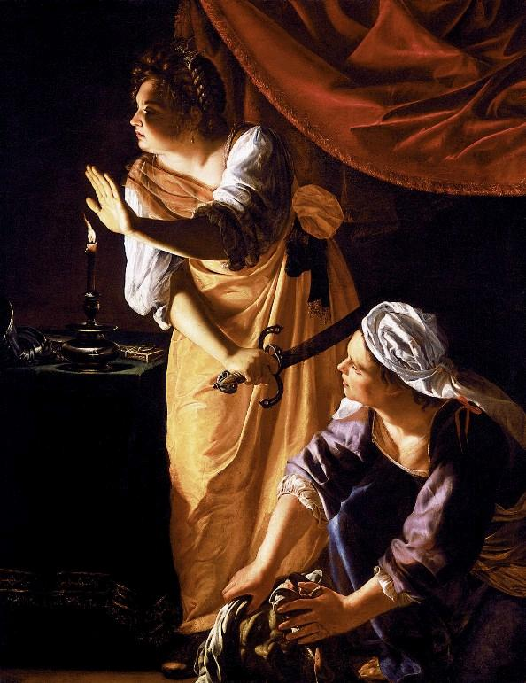 Judith and Her Maidservant with the Head of Holofernes  1625 Judith And Her Maidservant With The Head Of Holofernes